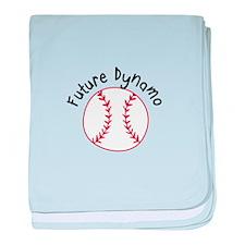 Future Dynamo baby blanket