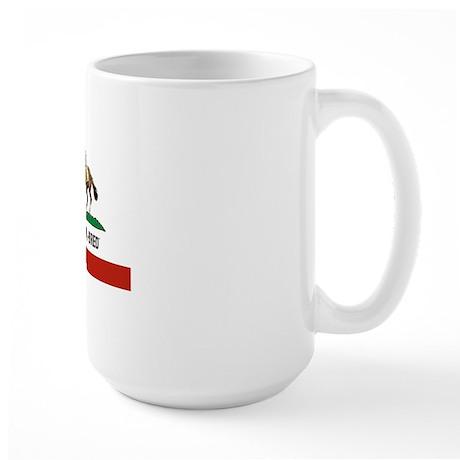 I AM A CAL-BRED LOGO Large Mug