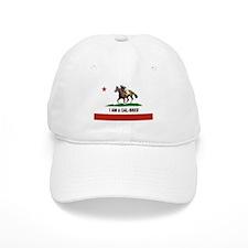 I AM A CAL-BRED with Logo Baseball Baseball Cap