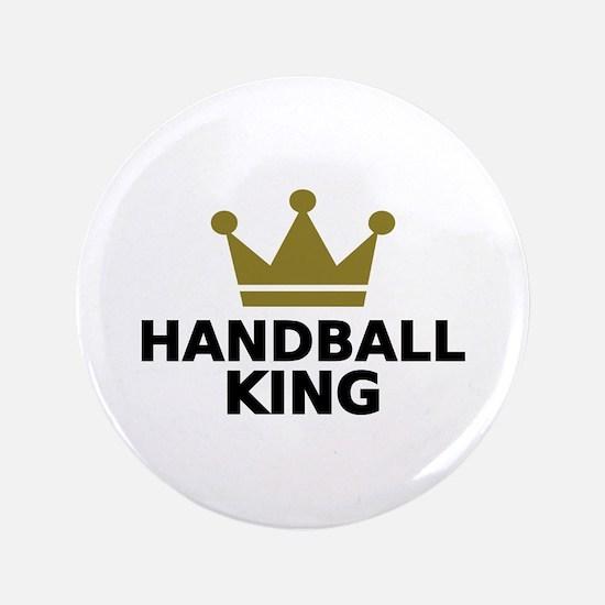 """Handball king 3.5"""" Button"""