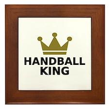 Handball king Framed Tile
