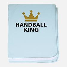 Handball king baby blanket