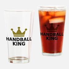 Handball king Drinking Glass