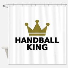 Handball king Shower Curtain