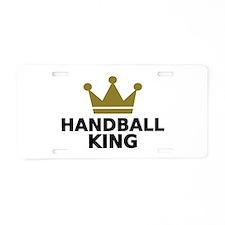 Handball king Aluminum License Plate