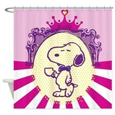 Snoopy Glamour Shower Curtain