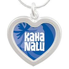 Kaha Nalu Silver Heart Necklace