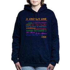 A Chorus Line The Songs Women's Hooded Sweatshirt