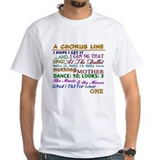 A Chorus Line The Songs T-Shirt