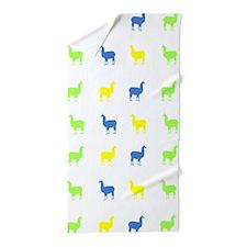 Llamas Beach Towel
