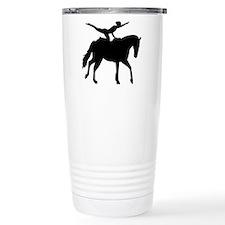 Vaulting horse Travel Coffee Mug