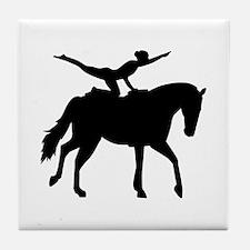 Vaulting horse Tile Coaster