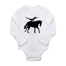 Vaulting horse Long Sleeve Infant Bodysuit