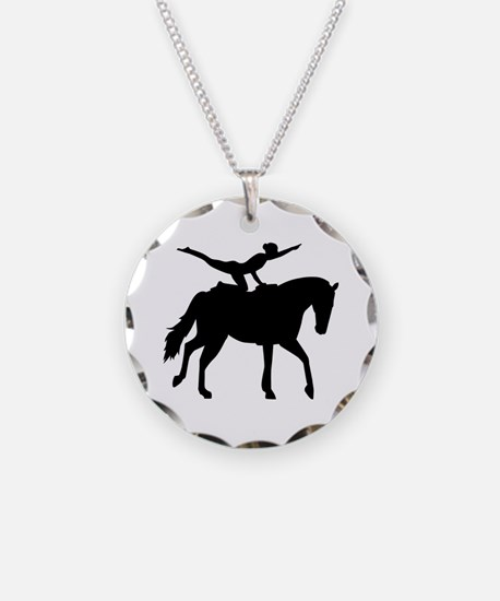 Vaulting horse Necklace
