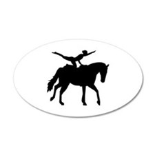 Vaulting horse Wall Decal
