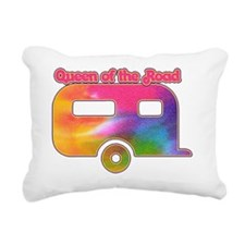 Queen of the road hitch  Rectangular Canvas Pillow
