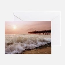 Little Island Waves  Greeting Card