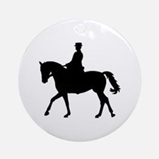 Riding dressage Ornament (Round)