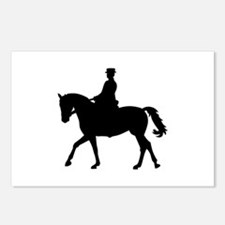 Riding dressage Postcards (Package of 8)