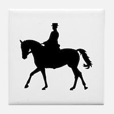 Riding dressage Tile Coaster