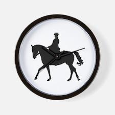 Riding dressage Wall Clock