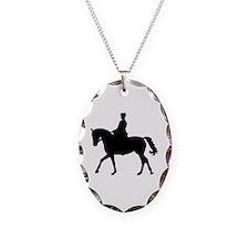 Riding dressage Necklace Oval Charm