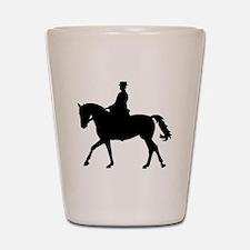Riding dressage Shot Glass