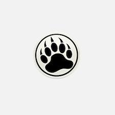 Classic Black bear claw inside a black ring Mini B