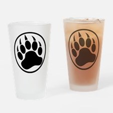 Classic Black bear claw inside a black ring Drinki