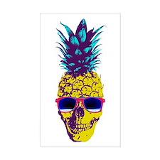 Pineapple Skull Decal