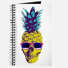Pineapple Skull Journal