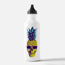 Pineapple Skull Water Bottle
