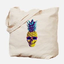 Pineapple Skull Tote Bag