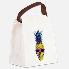 Pineapple Skull Canvas Lunch Bag