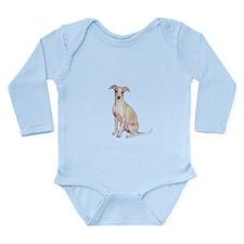 Italian Greyhound #1 Long Sleeve Infant Bodysuit