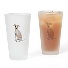 Italian Greyhound #1 Drinking Glass