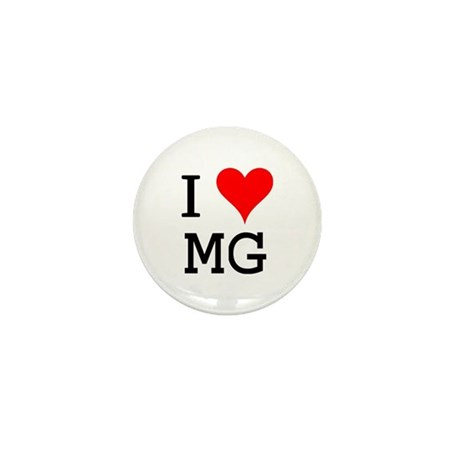 I Love MG Mini Button (10 pack)