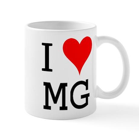 I Love MG Mug