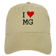 I Love MG Baseball Cap