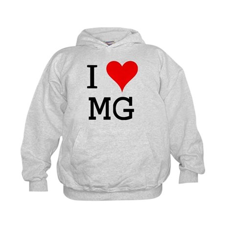 I Love MG Kids Hoodie