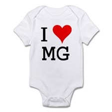 I Love MG Infant Bodysuit