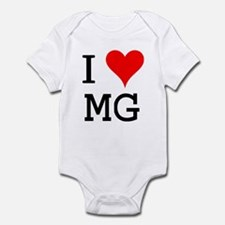 I Love MG Onesie