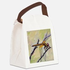 Dragonfly Canvas Lunch Bag