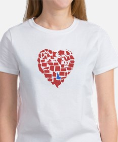 Idaho Heart Tee