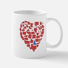 Idaho Heart Mug