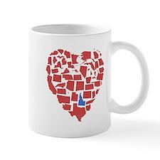 Idaho Heart Small Mug