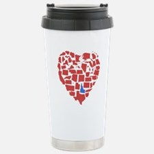Idaho Heart Stainless Steel Travel Mug