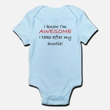 Im Awesome I Take After My Auntie Body Suit