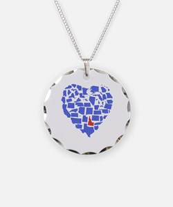 Idaho Heart Necklace