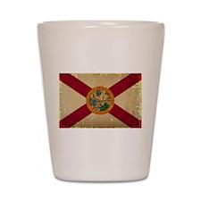 Florida State Flag VINTAGE Shot Glass